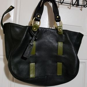 New small Island real leather purse